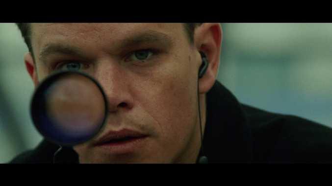 Matt Damon in a scene from the movie The Bourne Supremacy.