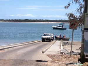 Bungling for 20 years on Burrum Heads boat ramp