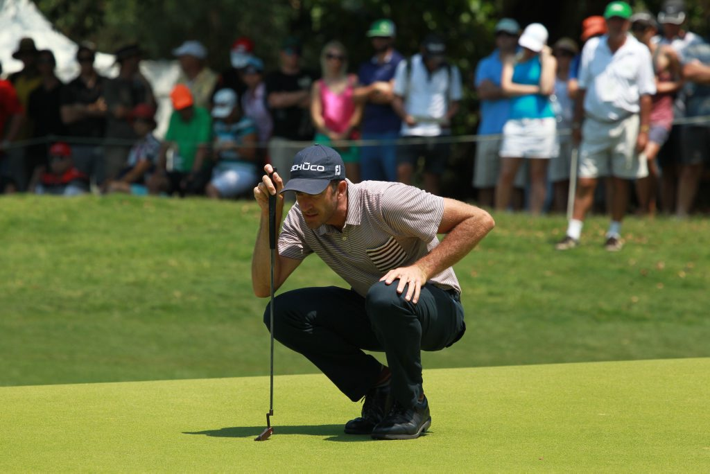 Final day of the Australian PGA Championship at Palmer Resort, Coolum: Geoff Ogilvy Photo: Brett Wortman / Sunshine Coast Daily