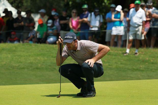 Final day of the Australian PGA Championship at Palmer Resort, Coolum: Geoff Ogilvy Photo: Brett Wortman / Sunshine Coast Daily