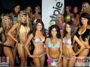 Bikini beauties bring big crowd for modelling final