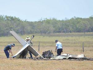 Investigators now in control of plane crash site