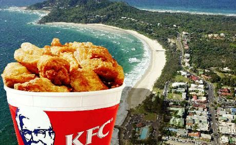 Council rejects KFC plan for Byron.