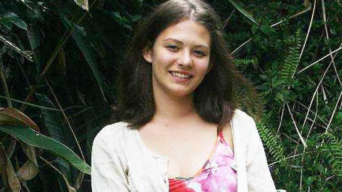 HSC NERVES: Byron Bay High HSC student Lealah Shostak contemplates her future.