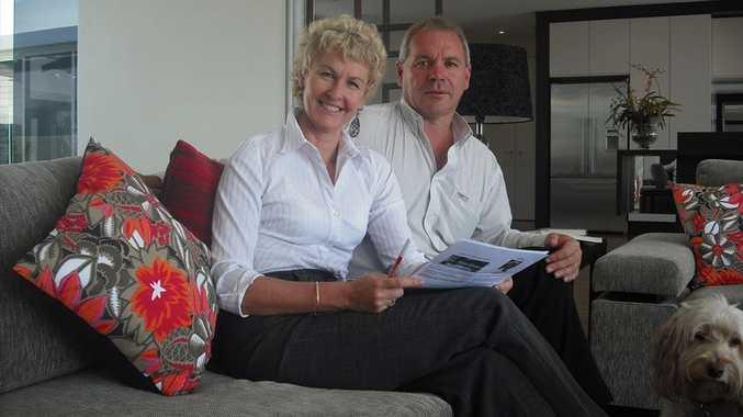 Pat and Petrina Ryan of Ryan Designer Homes.