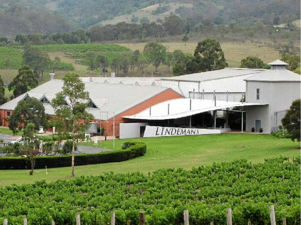 Lindemans winery in the picturesque rural setting of the Hunter Valley.