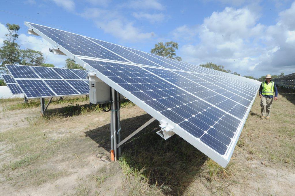 A solar farm will be built in Teebar.