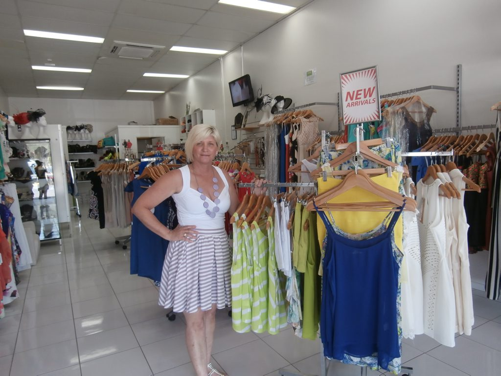 Lynette Morgan, has been the owner of Saltt Clothing for three years now.