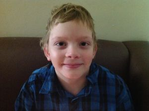 Family receives exciting news that Mitchell is cancer-free