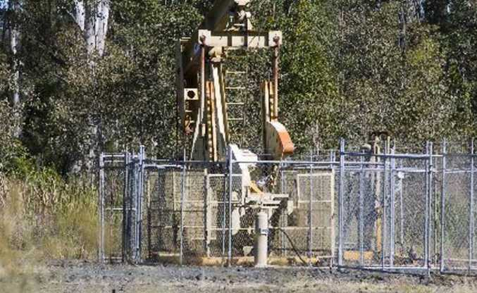 Land owners will be compensated for gas wells.