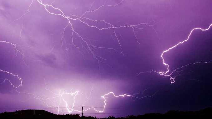 Lightning over the northern rivers. Photo: Mark Heath