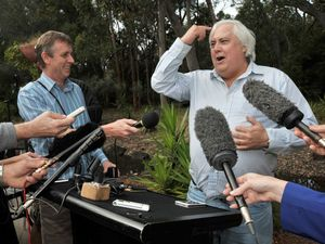 It's Clive-gate: Palmer's office broken into, laptop taken