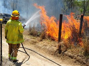 Firefighters urge residents to be prepared as dry heat hits