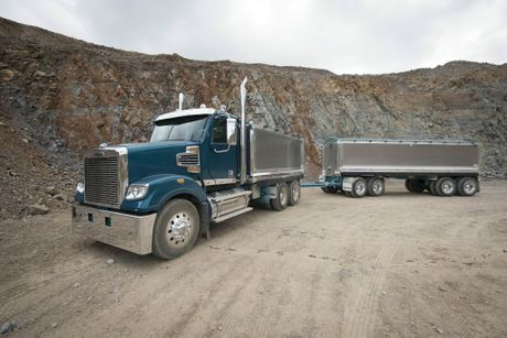 Latest Coronado will plug the gap left by the demise of the Sterling brand, especially in the tipper and dog market. Photo David Meredith / Big Rigs