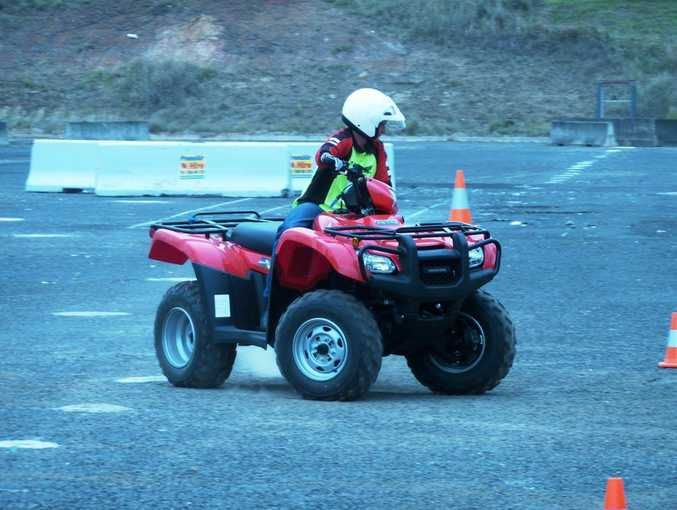 Safety experts get together to explore quad bike safety.