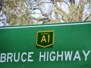 Two men taken to hospital after Bruce Hwy crash