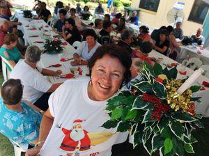 Salvos praise helpers at festive lunch