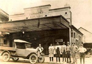 LOOKING BACK: Cuthberts Plumbing in Ellenborough St in 1927.