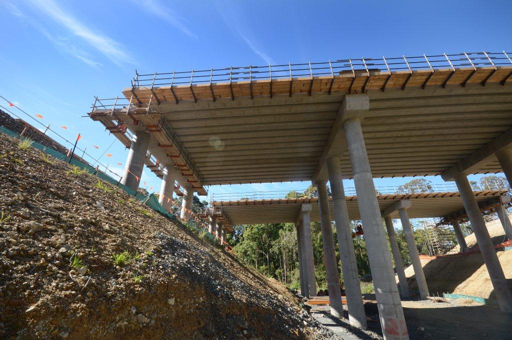 Highway bypass, upgrade. Woolgoolga west development. Photo: Leigh Jensen / Coffs Coast Advocate