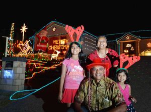 Light display champ loves spreading goodwill at Christmas