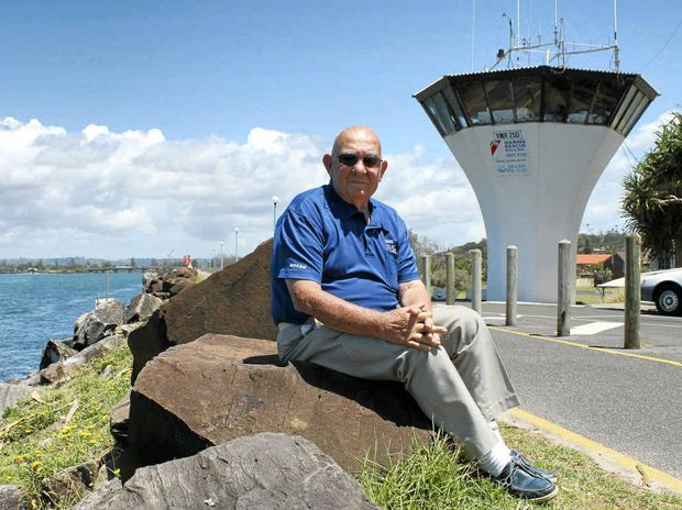 WATCH IS OVER: Ballina Marine Rescue volunteer Kevin Thompson has finished tower duties after 23 years.