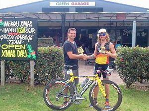 Ben takes gold in Thai triathlon