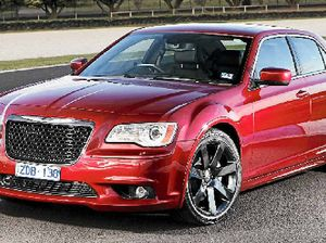 Chrysler 300C SRT8's potency backs up the bling