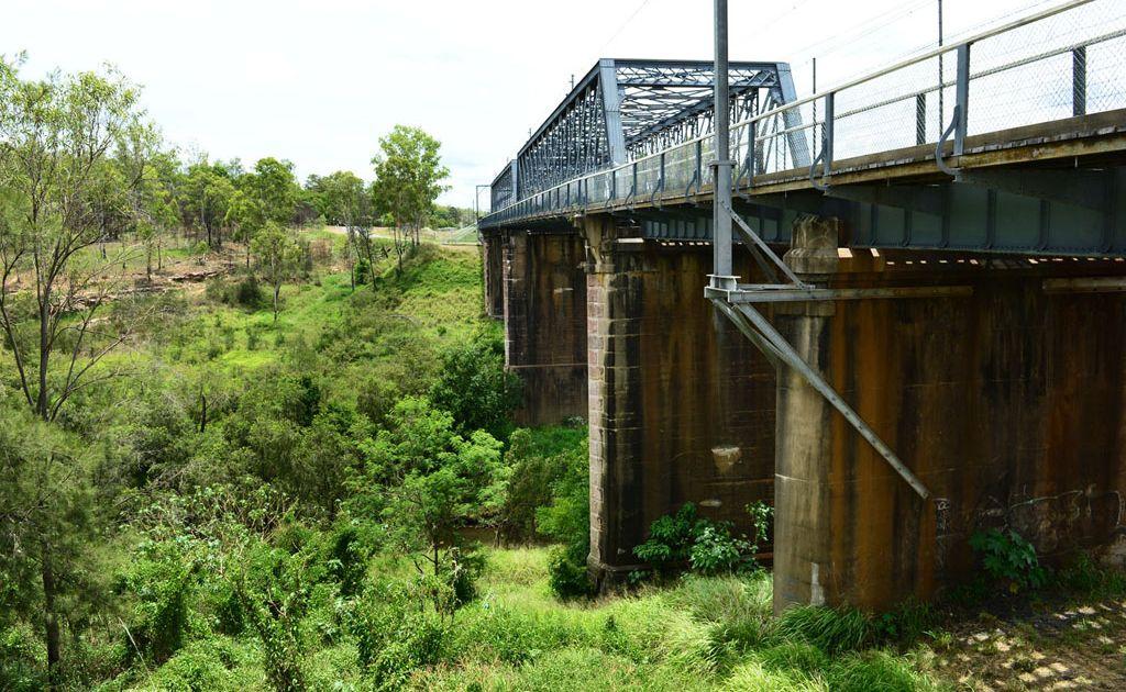 The body of missing person Reece Austin was discovered near the Wulkuraka Railway Bridge.