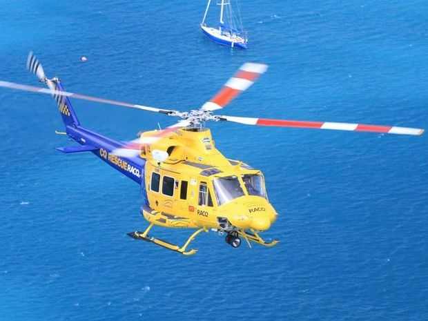 The RACQ-CQ Rescue helicopter will have better access to Mackay Hospitla due to an upgraded helipad.
