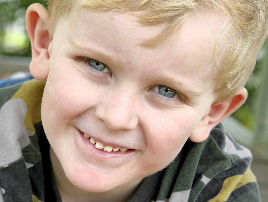 Thomas Olive died at age four from a gene mutation that destroyed his muscles.