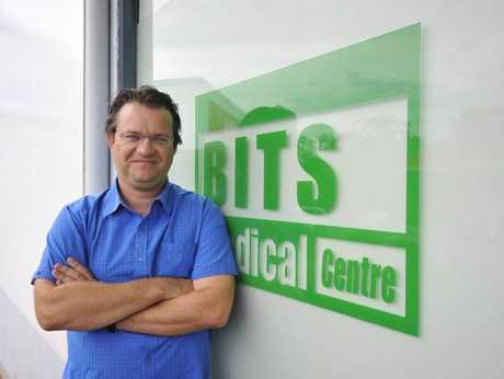 Dr Gaston Boulanger from BITS Medical Centre at Tannum Sands.
