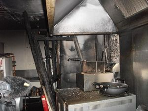 Three Howard shops suffer significant damage in fire