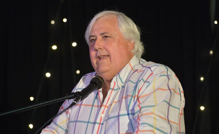 Clive Palmer helped funnel cash into political parties' pockets in 2011-12.