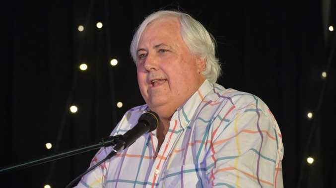 Billionaire mine developer Clive Palmer.