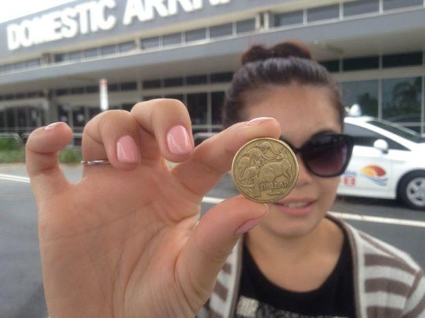 Melissa Ponferrada at Gold Coast Airport.