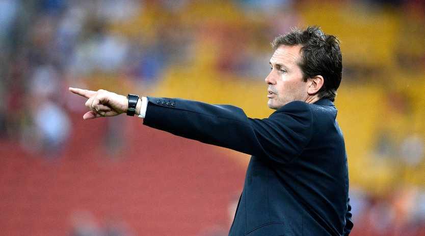 Brisbane Roar coach Mike Mulvey.