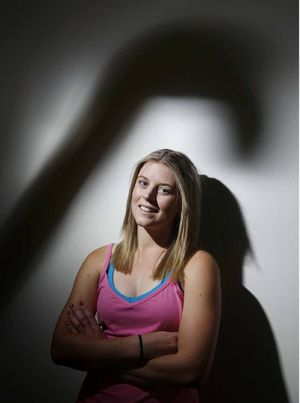FRAMED FOR SUCCESS: Ipswich and Australian hockey player Jordyn Holzberger.