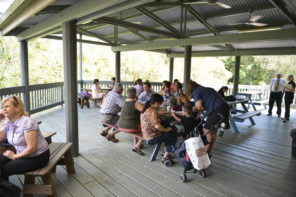 Welcome to Gladstone Morning Tea at the Tondoon Botanic Gardens.