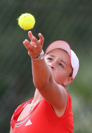 Ashleigh Barty will contest the Moorilla Hobart International.