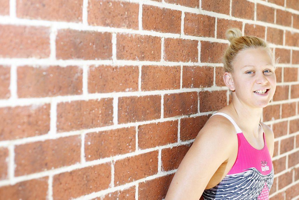 Paralympian swimmer Kayla Clarke.