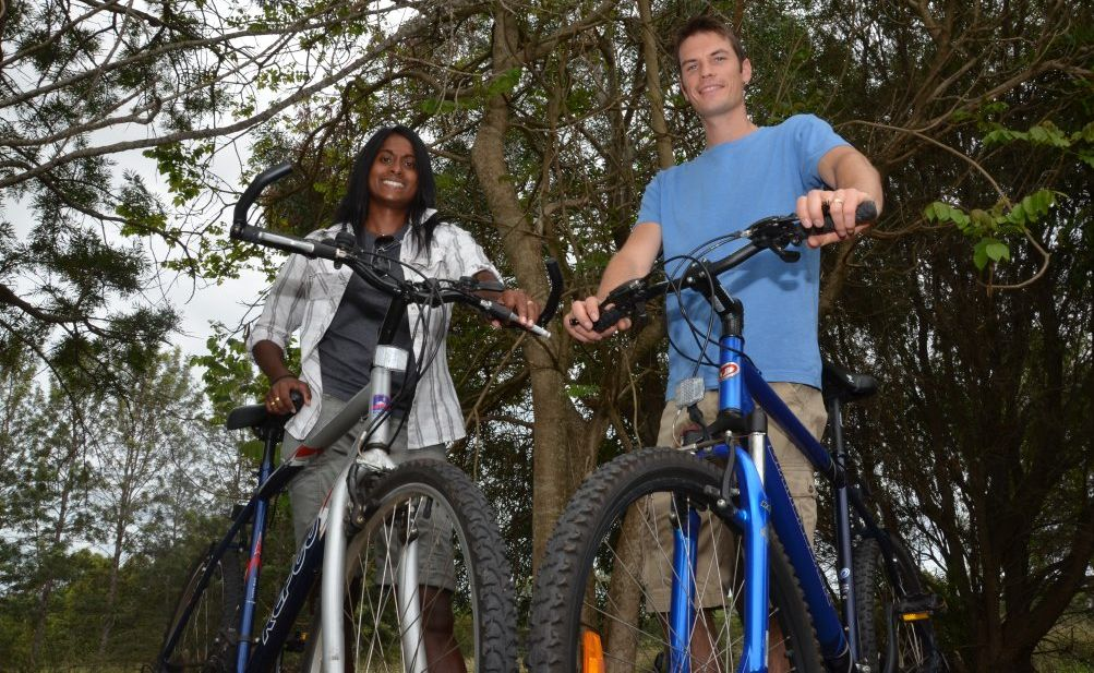 ADVENTURE TIME: Kingaroy couple Jade and Rowan Tatnell want you to experience the benefits of the great outdoors in the South Burnett.
