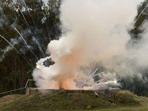 Illegal fireworks detonated at Helidon Explosives Reserve
