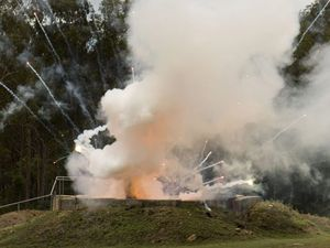 Illegal fireworks detonated at Helidon Explosives Reserve