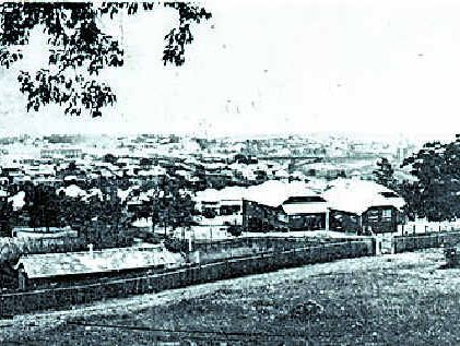 GROWTH: This 1926 view of Ipswich from Limestone Hill shows the Central Girls and Central Boys Schools in the foreground.