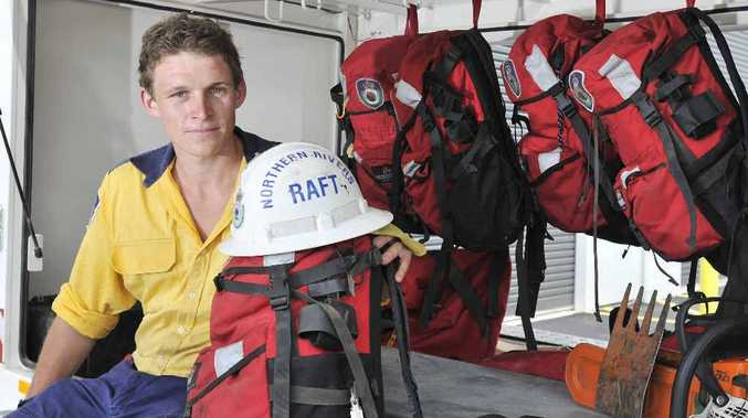 ON CALL: Jason Bruessow of the remote area firefighter team based in Casino.