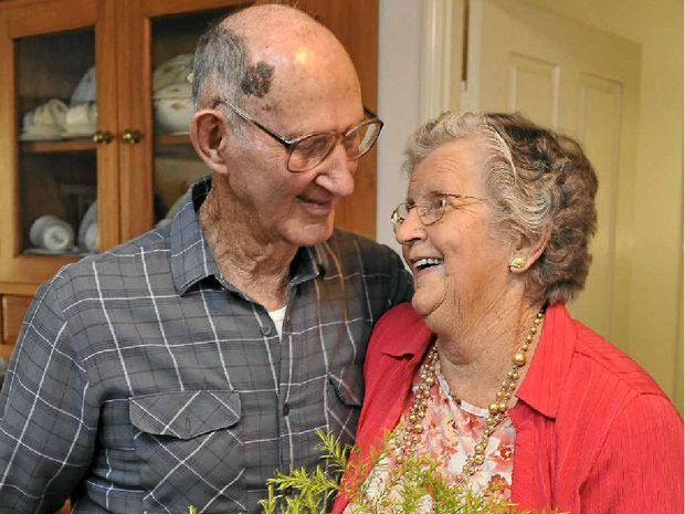 HAPPY ANNIVERSARY: Colin and Nancy Huston are celebrating their 67th wedding anniversary.