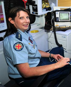 Queensland Ambulance Service North Mackay officer-in-charge Tracey Eastwick.