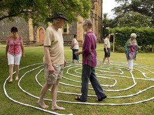 Walk sets parishioners on path to inner peace