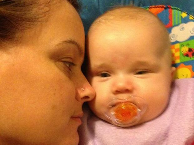 Miles woman Sandy Meehan was killed in a head-on collision near Bundaberg that spared the life of her baby daughter.
