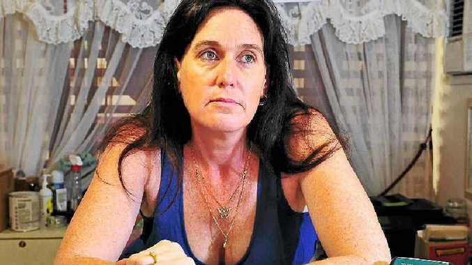 HIT BY CON: Renee Miers of Maple Lane Country Gifts in Cooroy fell victim to credit card fraud before Christmas.